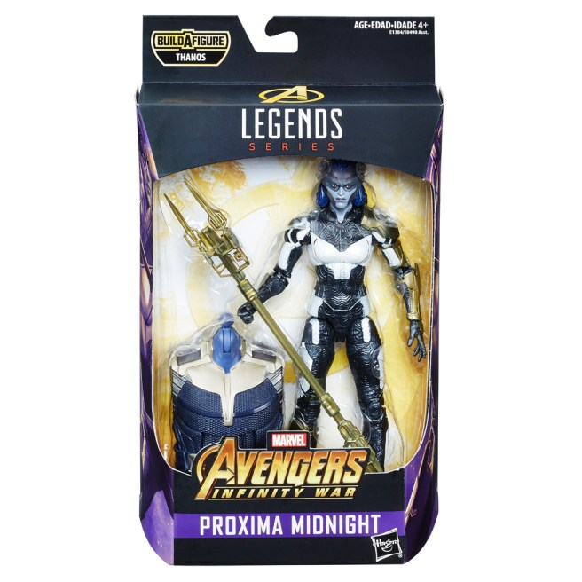 MARVEL AVENGERS INFINITY WAR LEGENDS SERIES 6-INCH Figure Assortment (Proxima Midnight) - in pkg